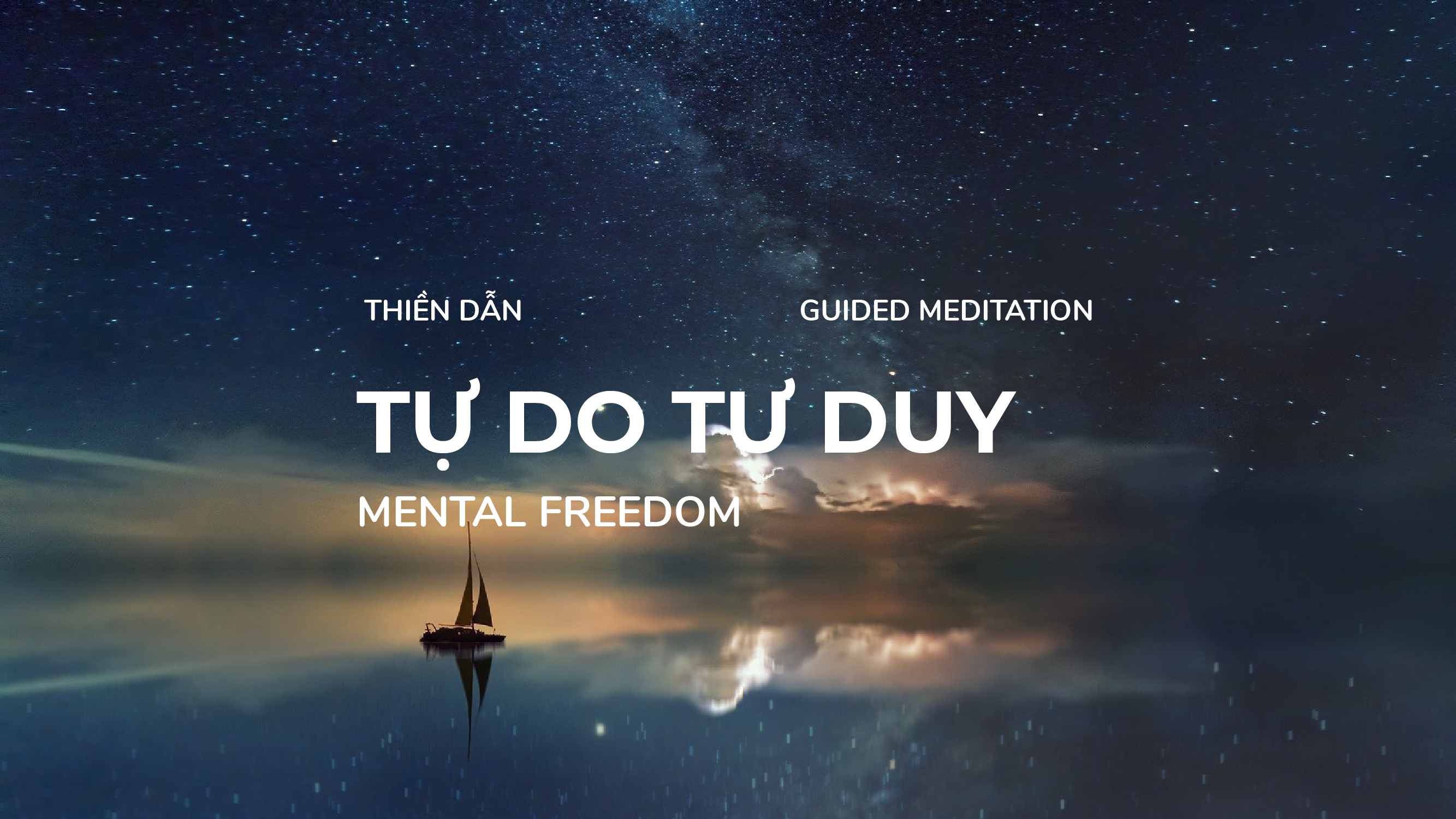 Guided Meditation – Mental freedom – 14 Minutes